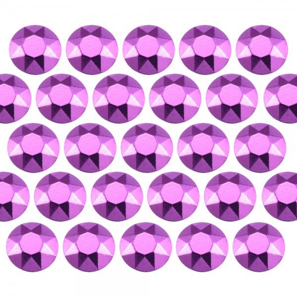 Octagon studs 6 mm Purple