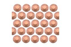 Octagon studs 6 mm Matt Copper