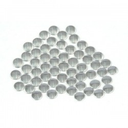 Nailhead studs Round 2 mm Silver