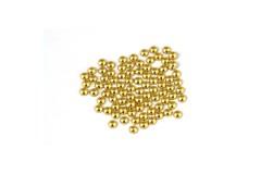 Metal half pearls 3 mm Lt. Gold