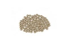 Metal half pearls 3 mm Brass