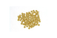Metal half pearls 4 mm Lt. Gold