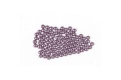 Metal half pearls 6 mm Matt Bt. Peridot