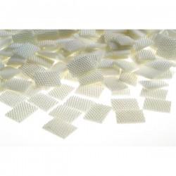 Kamienie ozdobne Pearl Dots Prostokąt 13x18 mm
