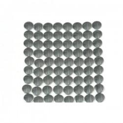 Blaszki płaskie Okrąg 2 mm Dark Bronze