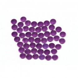 Blaszki płaskie Okrąg 2 mm Purple