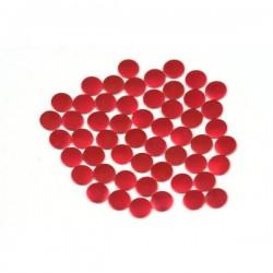 Blaszki płaskie Okrąg 2 mm Mt. Red