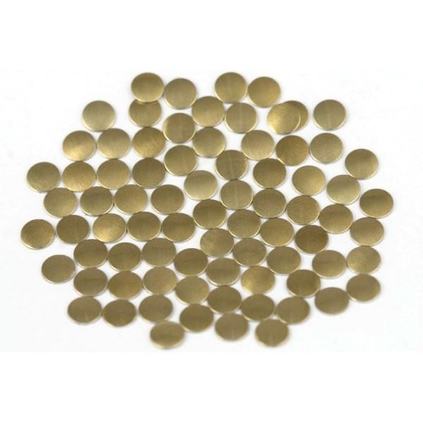 Nailhead studs Round 2 mm Brown