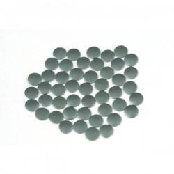 Blaszki płaskie Okrąg 2 mm Mt. Gray