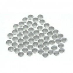 Nailhead studs Round 3 mm Silver