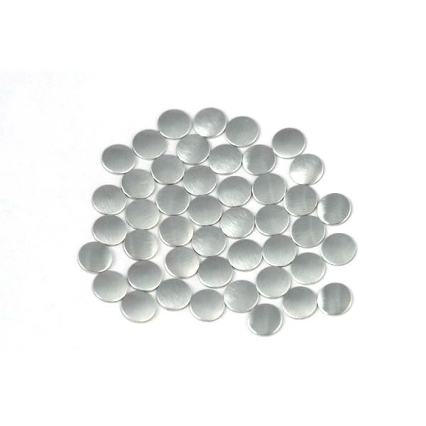 Nailhead studs Round 3 mm Mt. Silver