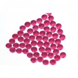 Nailhead studs Round 3 mm Fuchsia