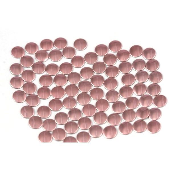 Nailhead studs Round 3 mm Lt. Pink