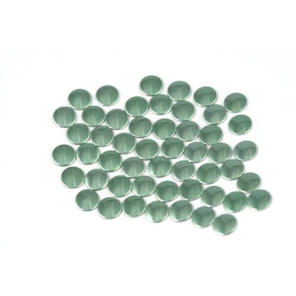 Nailhead studs Round 3 mm Lt. Green