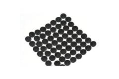 Nailhead studs Round 3 mm Black