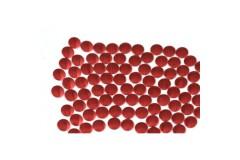 Nailhead studs Round 3 mm Red