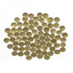 Nailhead studs Round 3 mm Brown