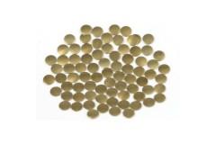 Nailhead studs Round 3 mm Brown