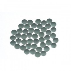 Nailhead studs Round 3 mm Mt. Gray