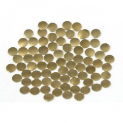 Nailhead studs Round 4 mm Brown