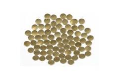 Nailhead studs Round 4 mm Brown