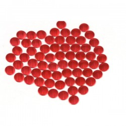 Nailhead studs Round 4 mm Lt. Red