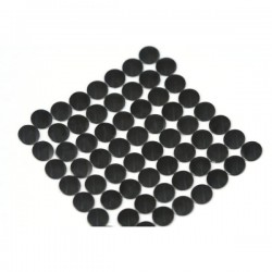 Nailhead studs Round 4 mm Black