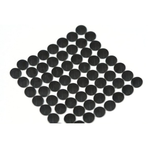 Nailhead studs Round 4 mm Black