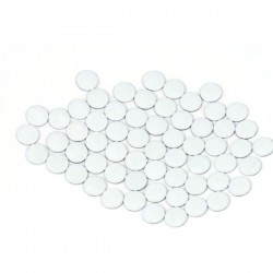 Nailhead studs Round 4 mm White