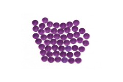 Nailhead studs Round 4 mm Purple