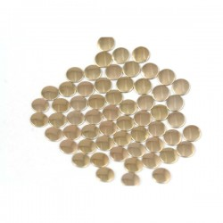 Nailhead studs Round 4 mm Copper
