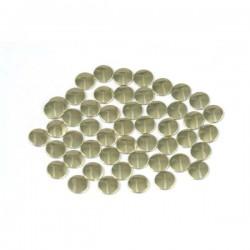 Nailhead studs Round 4 mm Gold
