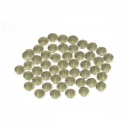 Nailhead studs Round 6 mm Gold