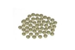 Nailhead studs Round 6 mm Gold