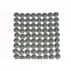 Nailhead studs Round 6 mm Dark Bronze
