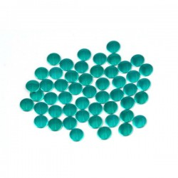 Nailhead studs Round 6 mm Sea Green