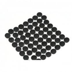 Nailhead studs Round 6 mm Black