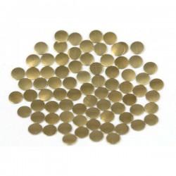 Nailhead studs Round 6 mm Brown