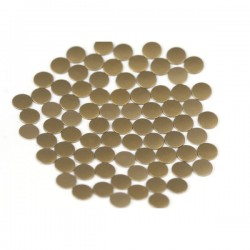 Nailhead studs Round 6 mm Mt. Brown