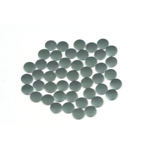 Nailhead studs Round 6 mm Mt. Gray