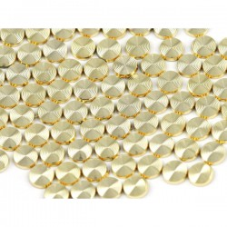 Blaszki Laser Cut 8mm Gold
