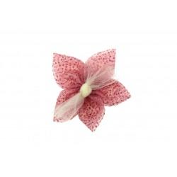 Aplikacja materiałowa siateczkowy Kwiatek K03