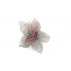 Aplikacja materiałowa siateczkowy Kwiatek K04