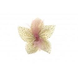 Aplikacja materiałowa siateczkowy Kwiatek K05