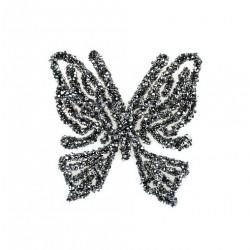 Aplikacja biżuteryjna Motyl 60x60 mm