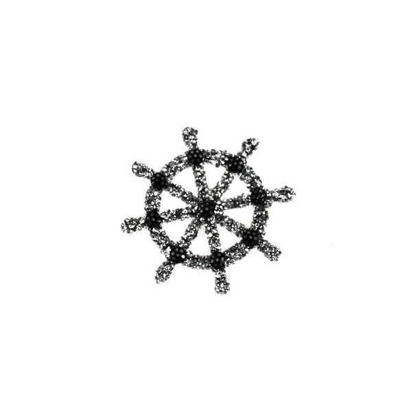 Aplikacja biżuteryjna termoprzylepna Ster 50x50 mm