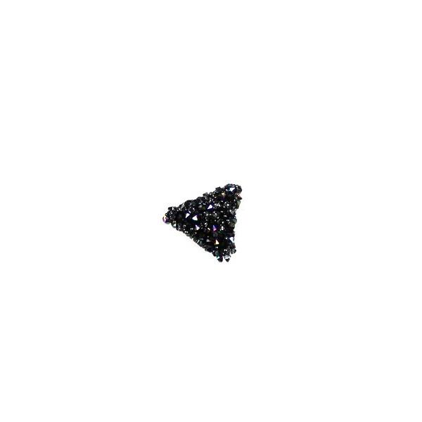 Aplikacja biżuteryjna termoprzylepna Trójkąt 15x15 mm