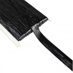 Taśma do wszycia elastyczna czarna 20 mm