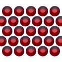 Glass rhinestone beads SS6 (2mm) Siam