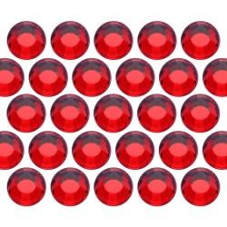 Dżety szklane SS6 (2mm) Lt. Siam (Czerwone)